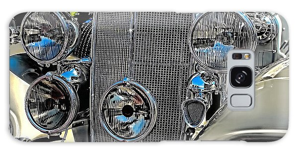 Vintage Car Art Buick Grill And Headlight Hdr Galaxy Case