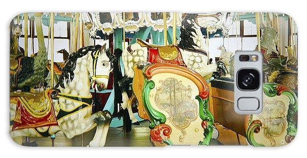 Vintage Carosel Galaxy Case by Debra Crank