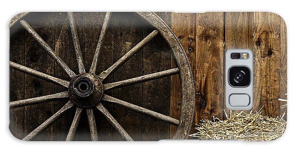 Vintage Carriage Wheel Galaxy Case