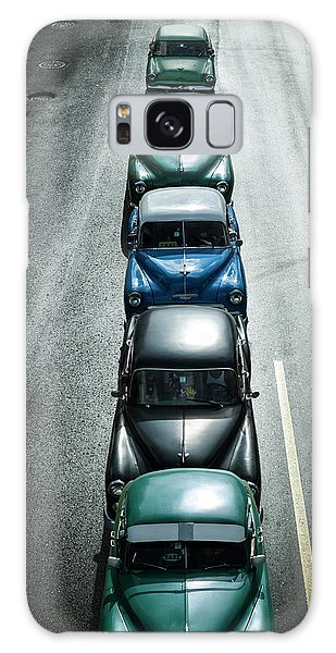 Old Car Galaxy Case - Vintage Cars,havana Fantasy by Svetlin Yosifov