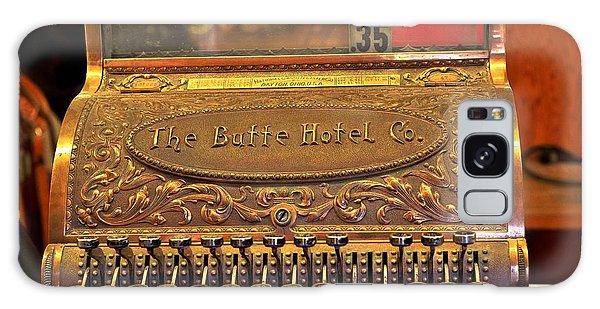 Vintage Cash Register Galaxy Case by Kae Cheatham