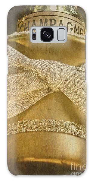 Vintage Champagne Ornament Galaxy Case by Birgit Tyrrell