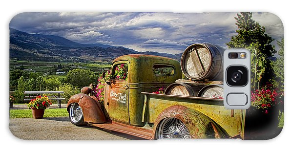 Vintage Chevy Truck At Oliver Twist Winery Galaxy Case