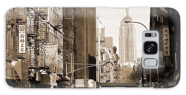 Vintage Chinatown And Empire State Galaxy Case