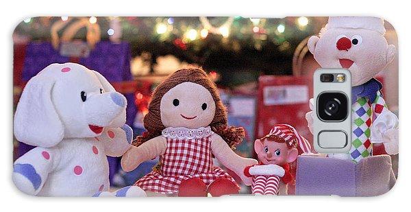 Elf Galaxy Case - Vintage Christmas Elf Island Of Misfit Toys by Barbara West
