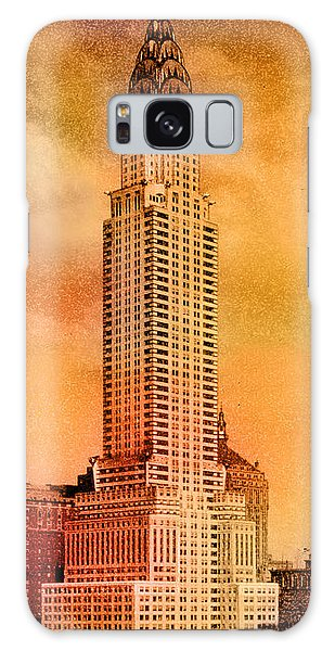 Chrysler Building Galaxy Case - Vintage Chrysler Building by Andrew Fare