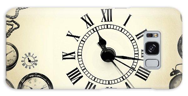 Clock Galaxy Case - Vintage Clocks by Mark Ashkenazi