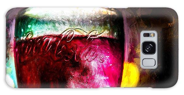 Collectibles Galaxy Case - Vintage Coca Cola Glass With Ice by Bob Orsillo