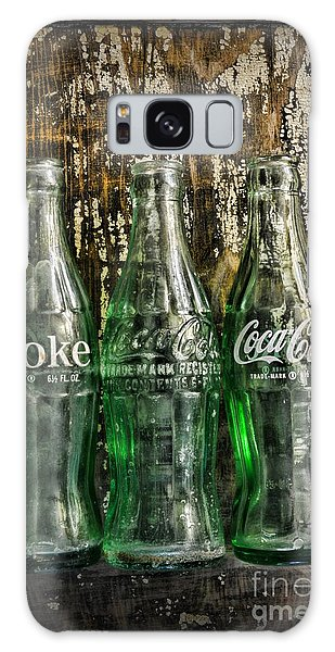 Vintage Coke Bottles Galaxy Case