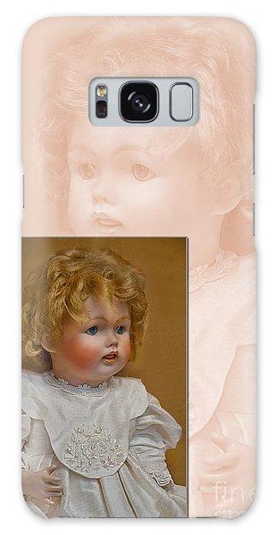 Vintage Doll Beauty Art Prints Galaxy Case