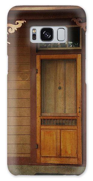 Vintage Doorway Galaxy Case