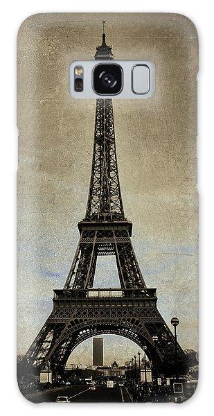 Vintage Eiffel Bronze Galaxy Case