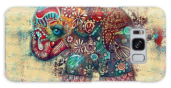 Vintage Elephant Galaxy Case by Karin Taylor