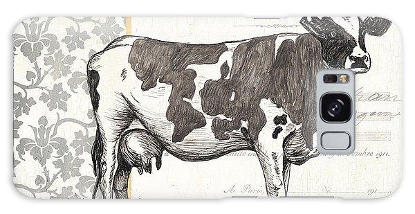 Cow Galaxy S8 Case - Vintage Farm 1 by Debbie DeWitt