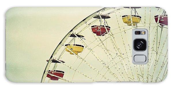 Vintage Ferris Wheel Galaxy Case