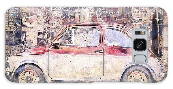 Vintage Cars Galaxy Case - Vintage Fiat 500 by Scott Norris
