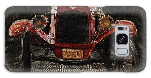Vintage Fire Truck  ... Galaxy Case by Chuck Caramella