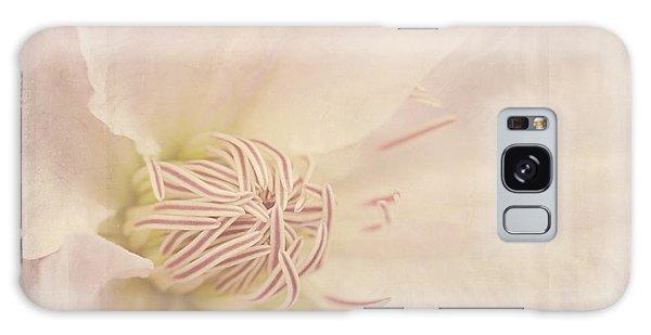 Vintage Flower Art - A Beautiful Place Galaxy Case
