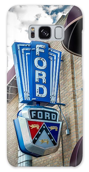 Vintage Ford Sign Galaxy Case