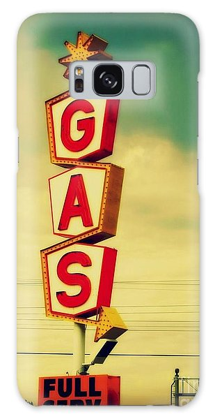 Vintage Gas Sign Galaxy Case