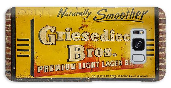 Vintage Griesedieck Bros Beer Dsc07192 Galaxy Case by Greg Kluempers