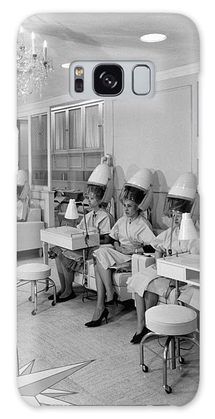 Vintage Hair Salon 2 Galaxy Case