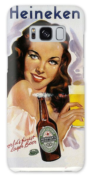 Vintage Heineken Beer Ad Galaxy Case