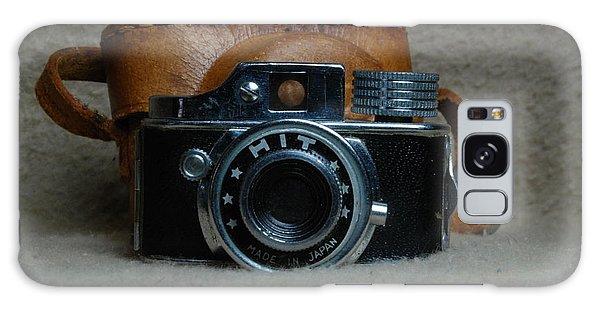 Vintage Hit Camera Galaxy Case by Mark McReynolds