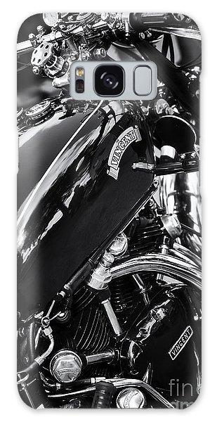 Vintage Hrd Vincent Series D Monochrome Galaxy Case