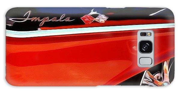 Classic Galaxy Case - Vintage Impala by Heidi Hermes