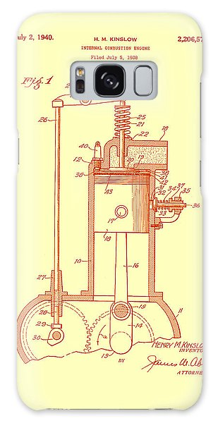 Old Truck Galaxy Case - Vintage Internal Combustion Engine Patent 1940 by Mountain Dreams
