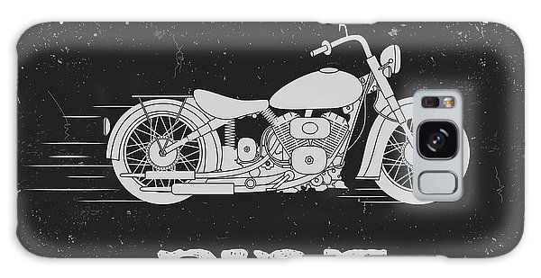 T-shirts Galaxy Case - Vintage Label With Motorcycle .vintage by Dimonika