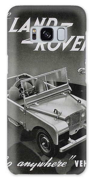 Vintage Land Rover Advert Galaxy Case