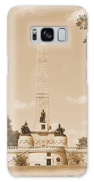 Vintage Lincoln's Tomb Galaxy Case