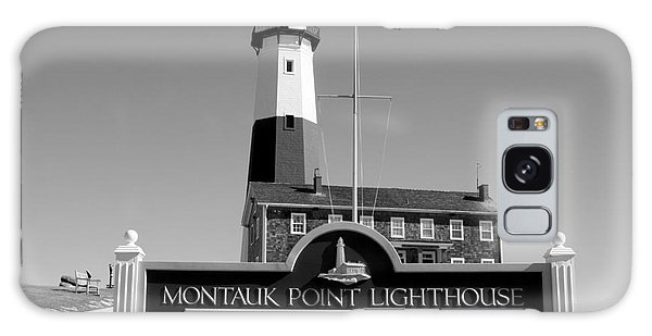 Vintage Looking Montauk Lighthouse Galaxy Case by John Telfer