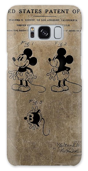 Vintage Mickey Mouse Patent Galaxy Case