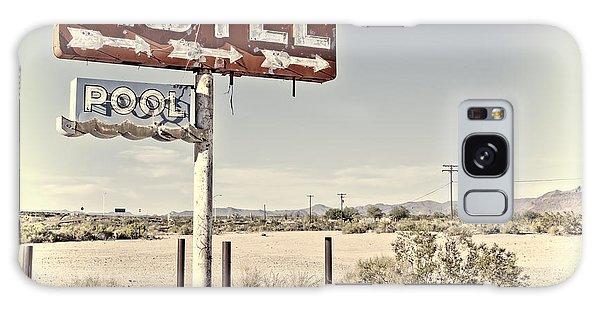 Vintage Motel Pool Sign Galaxy Case