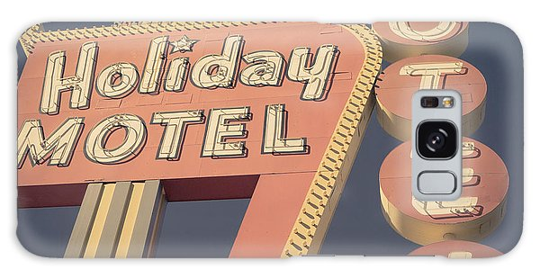 Neon Galaxy Case - Vintage Motel Sign Holiday Motel Square by Edward Fielding