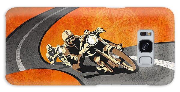 Motorcycle Galaxy Case - Vintage Motor Racing  by Sassan Filsoof