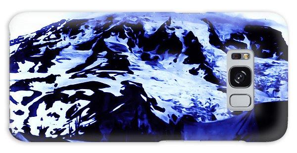 Vintage Mount Rainier At Twilight Early 1900 Era... Galaxy Case by Eddie Eastwood