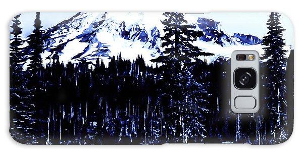 Vintage Mount Rainier Early 1900 Era... Galaxy Case by Eddie Eastwood