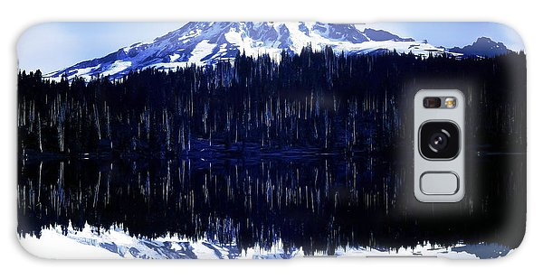 Vintage Mount Rainier From Reflection Lake Early 1900 Era... Galaxy Case