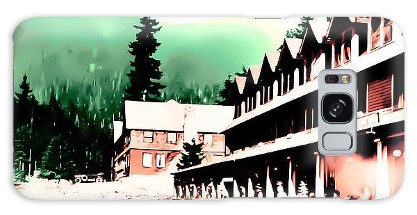 Vintage Mount Rainier National Park Inn Early 1900 Era... Galaxy Case by Eddie Eastwood