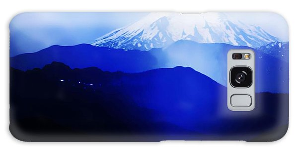 Vintage Mount St. Helens From Pinnacle Peak Early 1900 Era... Galaxy Case by Eddie Eastwood