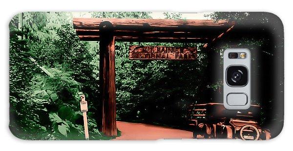 Vintage Mt.rainier National Park Entrance Early 1900 Era... Galaxy Case by Eddie Eastwood