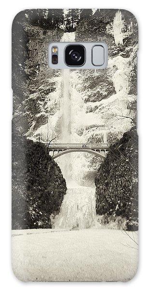 Vintage Multnomah Falls Galaxy Case