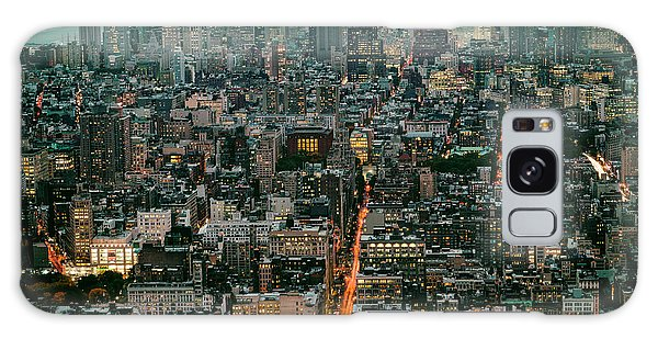 Vintage New York Skyline Galaxy Case