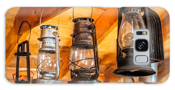 Vintage Oil Lanterns Galaxy Case by Paul Freidlund