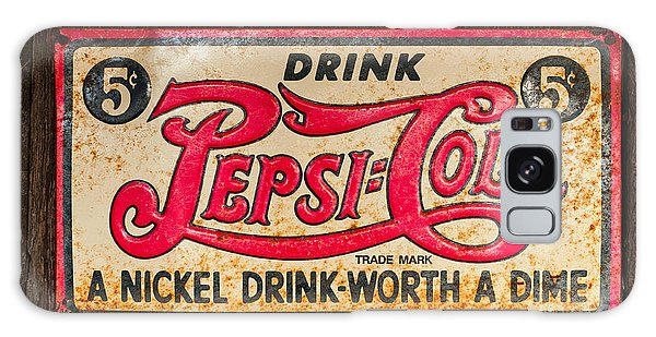 Vintage Pepsi Cola Ad Galaxy Case