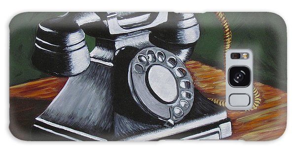 Vintage Phone 2 Galaxy Case